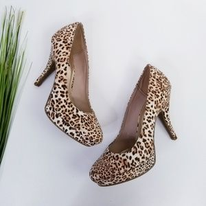 Kenneth Cole Unlisted Animal Print Heels  VGC